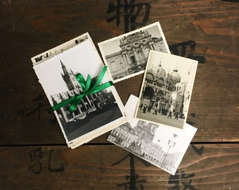 "50 pc - Vintage Photos ""International Travel Collection"" Snapshot Old Photo Black & White Photography Paper Ephemera Collectibles - 120416"