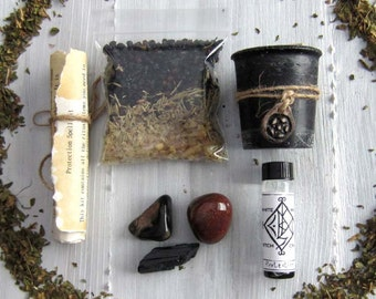 Spell kit wicca supplies witchcraft supply occult pagan wiccan altar tools spells magick witchy crystal set wiccan starter kit