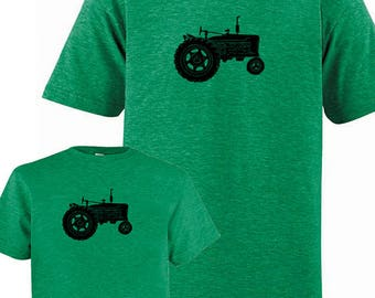Father Son Matching Dad Matching Father Son Shirts, Tractor Farm T shirts, Fathers Day present, new dad shirt, father daughter, gift for dad