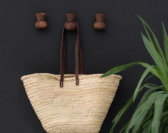 Thistle Wall Hanger, Wood Wall Hook, Kitchen Wall Hook, Apron Hook, Hostess Gift, Wall Decor