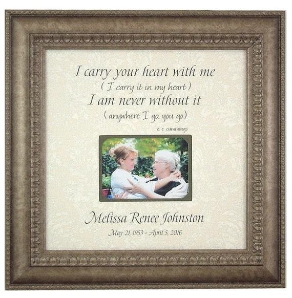 Wedding Memorial frame, In memory of frame, Memorial frame, Bereavement frame, Sympathy gift, Remembrance Gift, Handmade Photo Frame, 16 X16