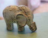 Dollhouse Miniature Elephant Figurine
