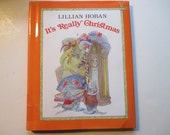 Vintage Children's Christmas Books It's Really Christmas Lillian Hoban Mouse Stories Gamey Joe Story for Young Children Hardcover Books