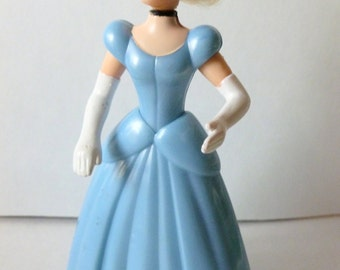 Cinderella Doll, Disney, Vintage Masterpiece Collection, NEVER USED, McDonalds Happy Meal, 1995, Doll, Character, Figurine, Small Toys