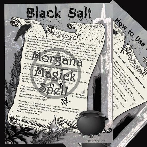 BLACK SALT - Magick and Banishing
