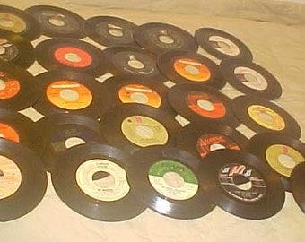 "45 rpm Record Lot of 25 #1454 Funk Soul Vintage 70s  vinyl 7"" records"