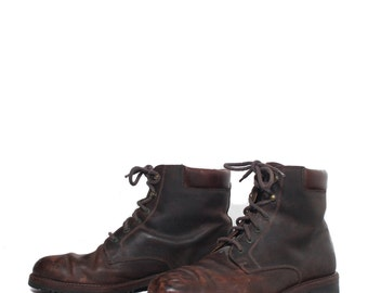10 M | Men's Cole Haan Brown Leather Chukka Ankle Boots