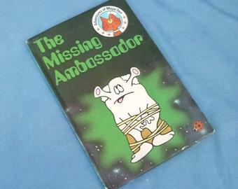 Vintage Ladybird Book The Missing Ambassador - Adventures of Major Tom - 1st  Edition 1983 - Matte Covers - Series 814