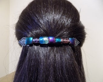 Extra large Barrette Thick Hair /Womens Gift/ French Barrette