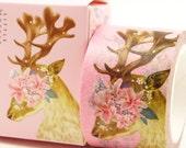 Deer Hunter - Japanese Washi Masking Tape - 30mm wide - 11 Yard