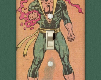 Iron Fist - Superhero Light Switch Plate