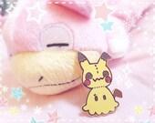 Mimikyu Pokemon Fan Art Brooch - Hard Enamel Pin