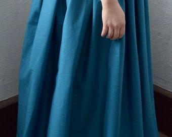 CUSTOM MADE 1700's Colonial Three Yard Skirt