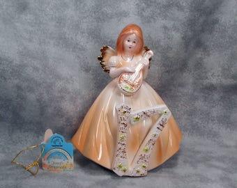 Josef Originals 17 Birthday Girl Angel Figurine Original Tabs MINT Condition