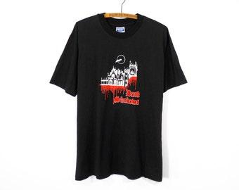 Vintage Dark Shadows Vampire TV Show T-Shirt Men's L