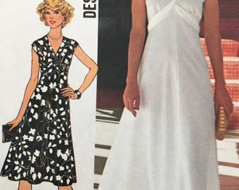 Simplicity 7538 Designer Fashion Dress