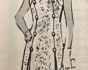 Women's Vintage Dress Pattern