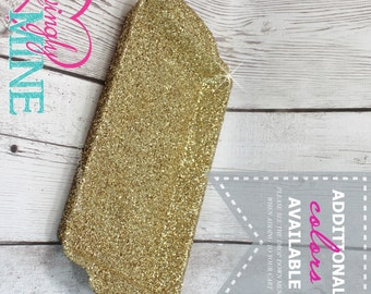 Glitter Gold Tray - Sweets Dessert Table Plastic Tray Decorations - Birthday, Baby Shower, Bridal Shower, Wedding - Additional Colors Availa