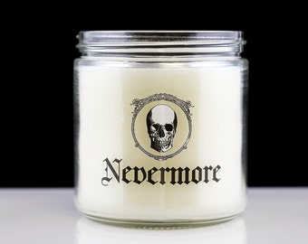 Large Scented Candle - Nevermore - Goth Candle
