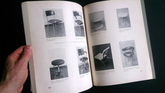 Der Stuhl | An important contemporary monograph on modernist furniture by the German architect and furniture designer Adolf Gustav Schneck