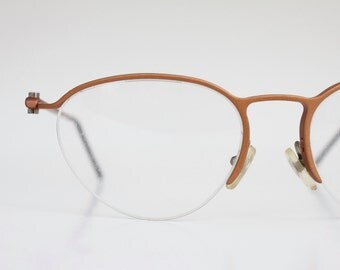 Vintage Italian Copper Wire Eyeglasses Sunglass Frames