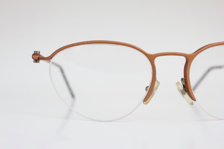 Eyeglass Frames Italian Company : Vintage Italian Copper Wire Eyeglasses Sunglass Frames