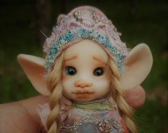 sweet  ooak posable   tiny  fairy fairie fae mouse