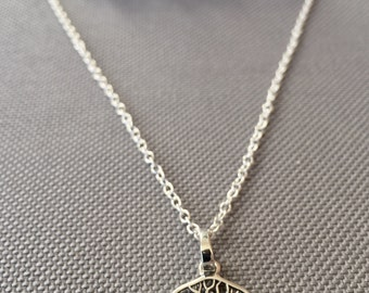 Tree of Life . Pendant . Sterling Silver . 925 . Role Chain . Necklace