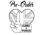 PRE-ORDER - Girl Power Spice Girls Inspired Hand painted wooden brooch