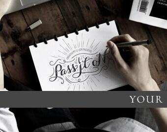 Customizable Hipster Facebook Cover Photo Template | Customizable Social Media Template | Customizable Facebook Template