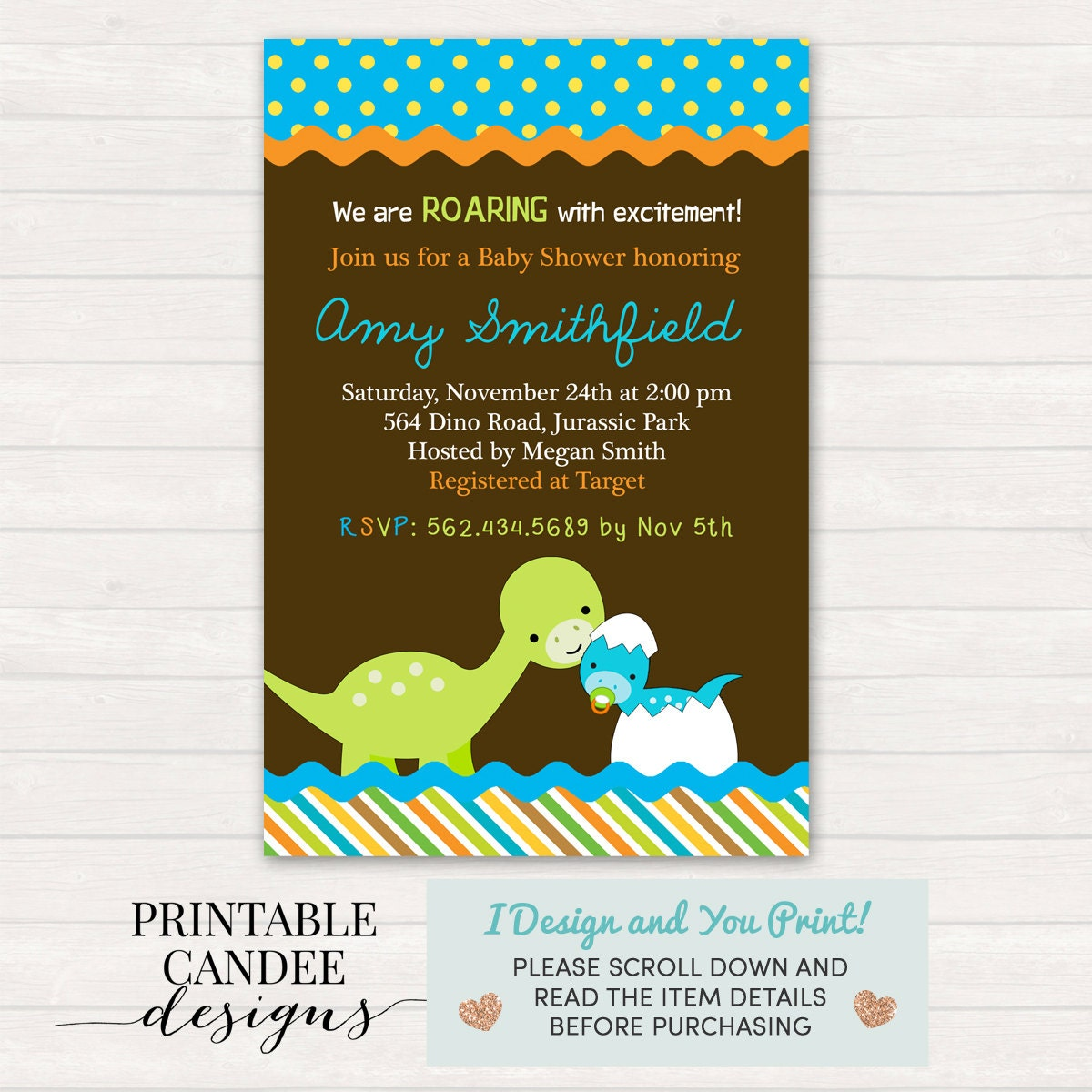 dinosaur baby shower invitation dinosaur baby shower dino
