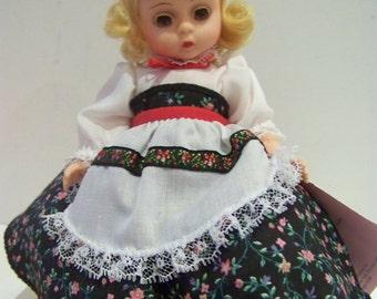 "madame alexander Norwary ""Lasse"" 8 in doll"