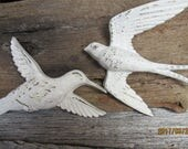 Homco Hummingbird, Burwood Swallow, Bird Wall Decor, Nursery Decor