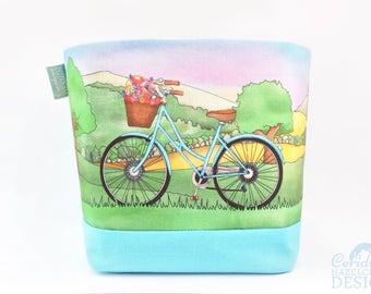 Bicycle Fabric Storage Box, Storage Basket, Fabric Basket, Fabric Organiser, Storage Bin