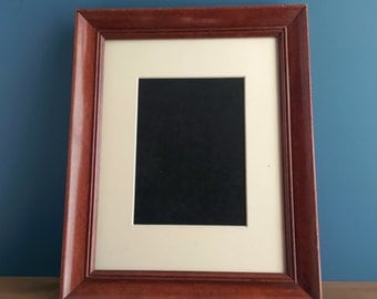 Antique Mahogany Picture / Photo Frame