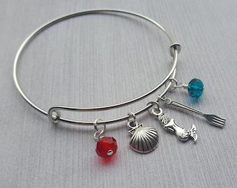 Little Mermaid Charm Bracelet