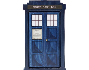 Dr. Who Tardis Fairy Door for Home and Garden