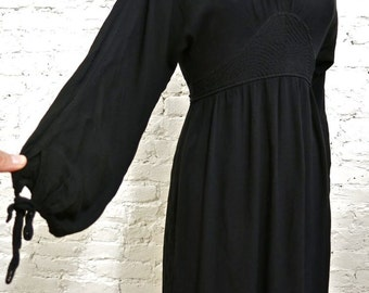 90s Iconic GHOST London Empire Waist Dress