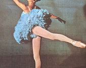 1960s MARILYN BURR BALLERINA in The Sleeping Beauty Print Perfect for Framing