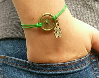 Dreamcatcher bracelet St. Patrick