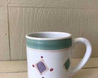 Caleca Handpainted Italian Mug