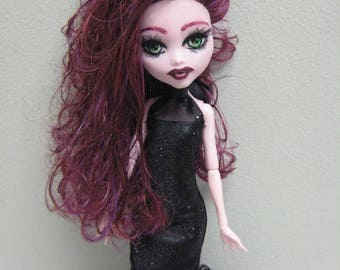 Ooak Monster High Doll Draculaura Artist Doll Custom Doll