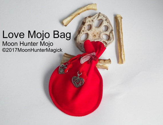 Love Mojo Bag Moon Hunter Mojo Limited Edition Hand Made