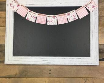 Large White Framed Chalkboard-White Framed Chalkboard-White Chalkboard-Big Chalkboard-Wood framed- White frame-White Framed