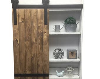 Sliding Barn Door Cabinet-Sliding Barn Door-Rustic Barn Door Cabinet- Barn Door- Sliding Door - Industrial Door- Rustic Sliding Door