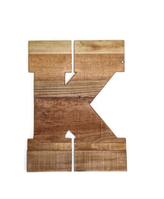 Large decorative wooden letters rustic home decor 16 for 16 wooden letters