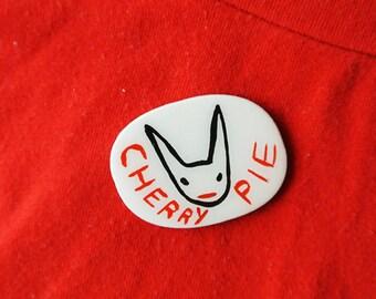 cherry pie - brooch