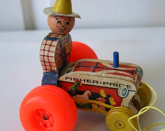 Fisher Price Mighty Tractor #629