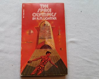 "Vintage Science Fiction Paperback, ""The Space Olympics"" by A.M. Lightner, 1972."