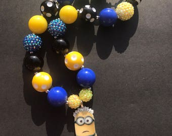 Minions Chunky Necklace
